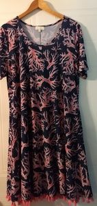 Simply Southern Naples Coral Reef design dress.